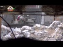 Syria BOM sniper vs SAA tank 25 02