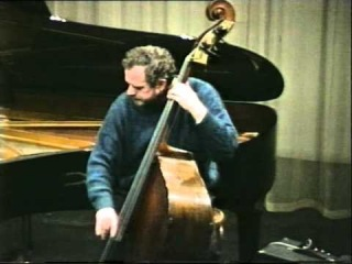 Niels-Henning Ørsted Pedersen - Bach improvisation, Autumn Leaves