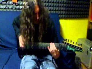 Indecent Excision - Guitar recording - no mix - no bass - no vocals