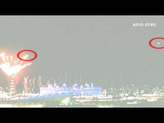 2 НЛО посетили Олимпиаду в Лондоне, 2012 (HD)