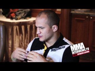 Джуниор дос Сантос: В UFC начинать карьеру выгоднее, чем в боксе (Интервью с ПЕРЕВОДОМ!)