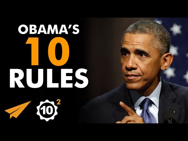There is NO EXCUSE For Not TRYING! - Barack Obama (@BarackObama) - Top 10 Rules