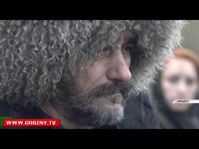 В Дагестане установили каменную плиту на могиле Байсангура Беноевского