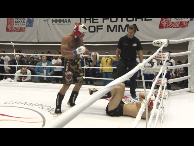 WMMAA World MMA Championship 2013 Kamal Magomedov vs Shafkat Rakhmonov