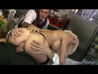 Stacy silver stacy, busty blond have anal sex in the kitchens (2015) hd