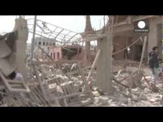 +18 –  Евроньюс - Йемен  новые саудовские авиаудары по Сане