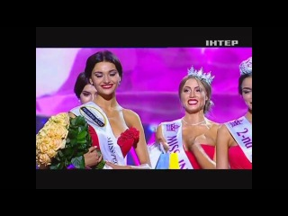 Miss Ukraine 2015 Crowning moment  (Road to Miss World 2015)