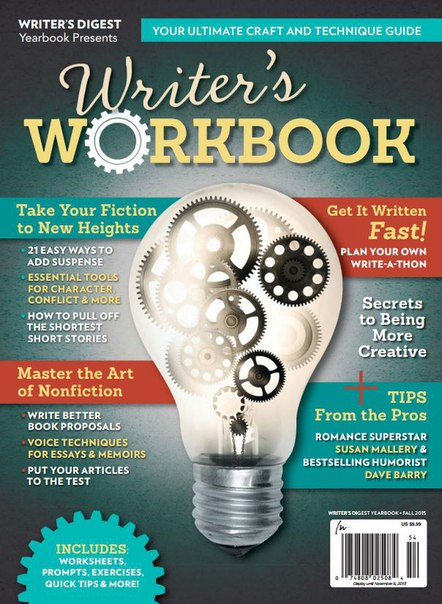Writer 39 s Digest Yearbook - Fall 2015 USA