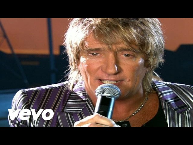Rod Stewart - Have You Ever Seen The Rain (Official Music Video)