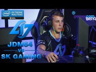 CS:GO POV - CLG jdm64 [28/18] vs SK Gaming (overpass) @ IEM Gamescom 2015