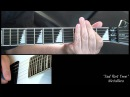METALLICA - Sad But True how to play free guitar lesson with tabs
