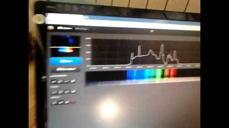 Самодельный спектрограф из веб камеры