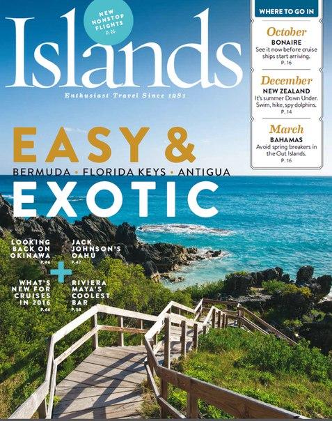 Islands - October 2015 USA