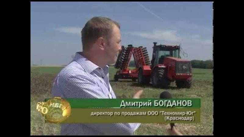 Кировец К 744Р3 Премиум на выставке Золотая Нива 2014