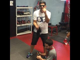 "Danny Swift Garcia on Instagram: ""Me and pops @crazyangelgarcia putting that work in."""