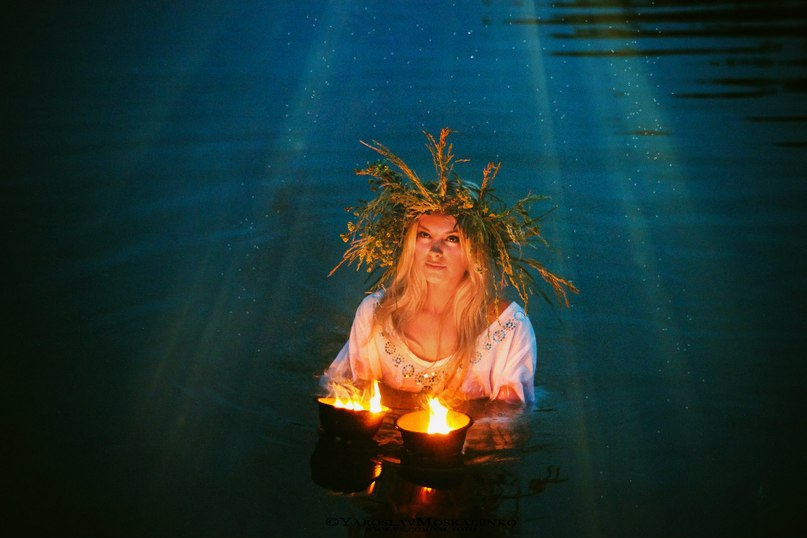 картинки ритуала очищения воды суше