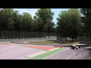 Assetto Corsa Mclaren MP4-13 Monza fly-byes