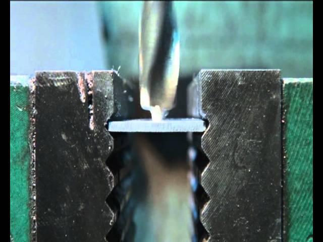 Заточка сверл для сверления листового материала