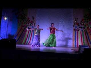 """Индийский танец """"Вандематарам"""", исп. Сунита и Камаль"""