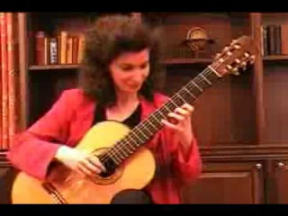 A Guitar Lesson with Sharon Isbin Part 2 - Sharon Isbin