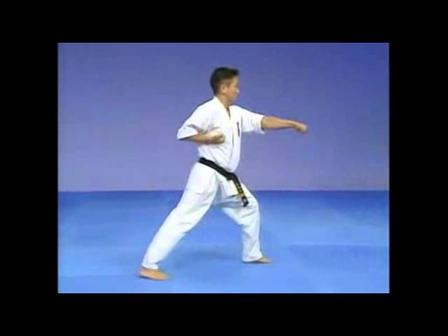 Каратэ Киокушинкай: Ката - Тайкиоку Соно Ичи | Kyokushin Karate: Kata - Taikyoku Sono Ichi