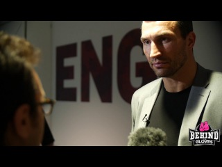 "WLADIMIR KLITSCHKO: ""I NEVER THOUGHT WHEN WE [AJ] SPARRED THAT WE WOULD BE FIGHTING ONE DAY!"""
