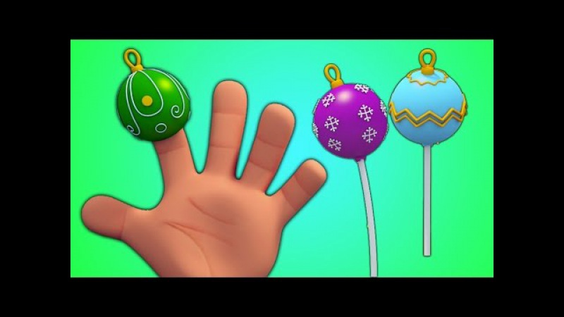 Torta hace estallar dedo familia Rimas para bebes Cake Pops Finger Family Finger Family Song