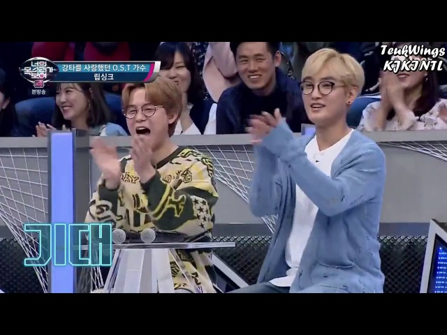Leeteuk and Shindong lipsyncing H O T's Candy