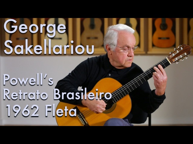 1962 Fleta George Sakellariou plays Retrato Brasileiro by Baden Powell
