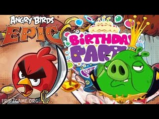 Angry Birds Epic - King Pig Battle Epic's Anniversary Party 11 12 13 14 15 Portal 4 Walkthrough