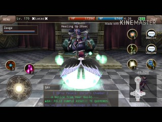 Iruna Online High Wizard ZeroRay Vs Fallen Angel Ibrie Rematch
