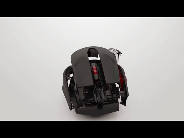 TteSPORTS Black FP Gaming Mouse with Fingerprint Security