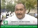 Силач из Челябинска взял на буксир пятитонный автобус с детьми