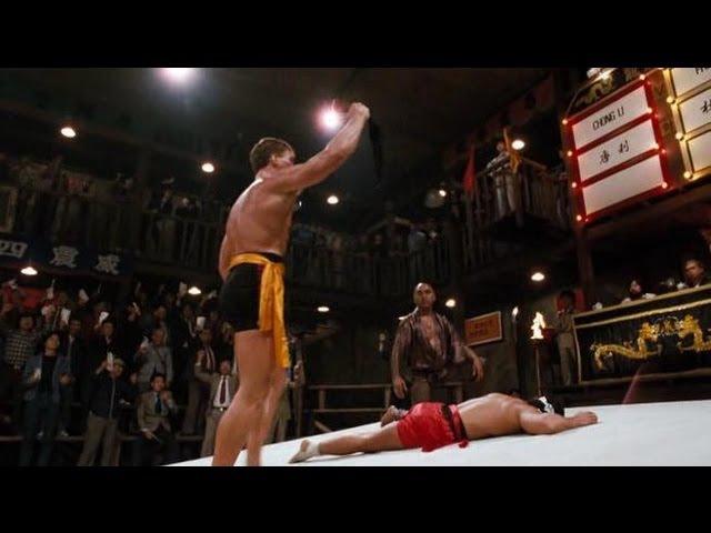 Bloodsport Fight to survive Jean Claude Van Damme