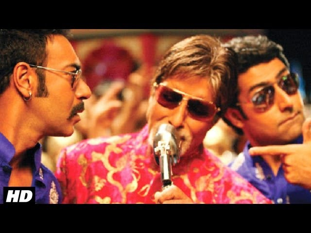 Bol Bachchan Full Song Bol Bachchan Amitabh Bachchan Abhishek Bachchan Ajay Devgn