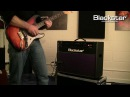 Demonstration of the New Blackstar HT-60 Stage 2x12 combo from the Blackstar HT-Venue Series.