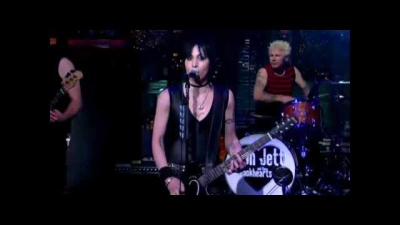 Joan Jett on David Letterman - Bad Reputation