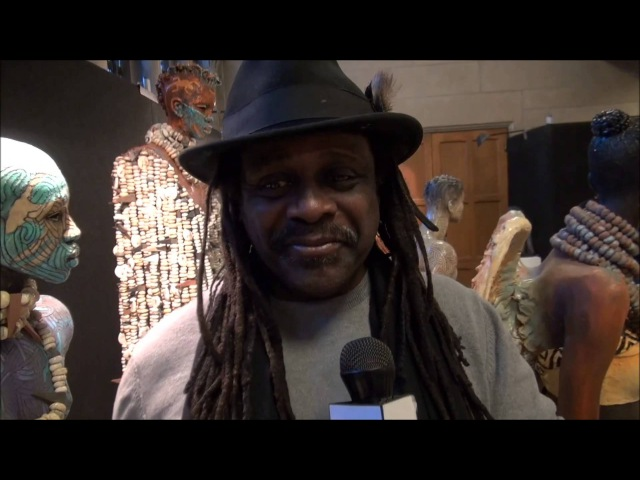 Woodrow Nash@HFAS Harlem Fine Arts Show@EricLJones Show