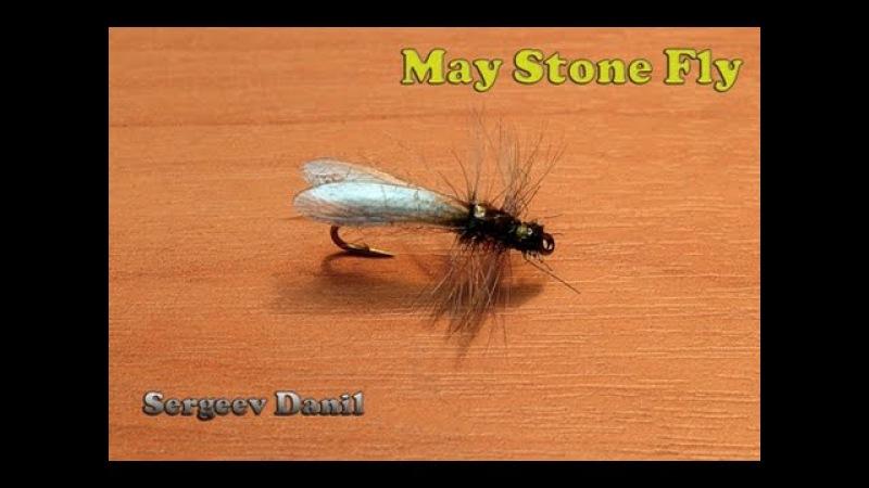Нахлыст и вязание мушек Веснянка Сухая Stonefly
