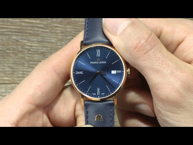 HOW TO Handle the Maurice Lacroix Eliros Date 2015