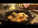 Tacchino arrosto con patate al rosmarino