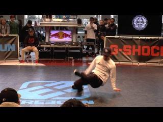 KATSUYA(THE FLOORRIORZ) JUDGE DEMO / King Of College 冬の陣 2016 BREAK DANCE CREW BATTLE