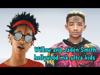 Jaden & Willow Smith Illuminati MK Ultra Hollywood Children EXPOSED (Satanic Mind Control)
