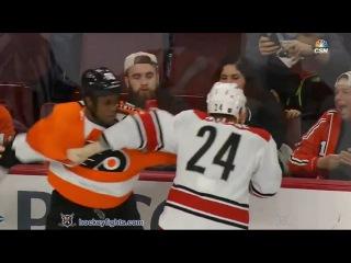Brad Malone vs Wayne Simmonds Dec 15, 2015