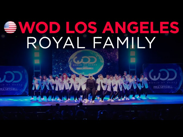 Royal Family World of Dance Los Angeles 2015 WODLA15
