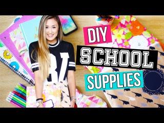DIY Back to School Supplies: Binders, Pencil Case & Organization   LaurDIY