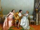 Ах,женщины.. в картинах Витторио Реджианини.
