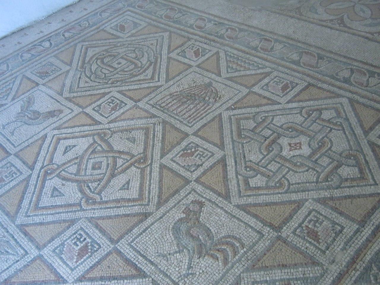 мозаичные полы в Мадаба