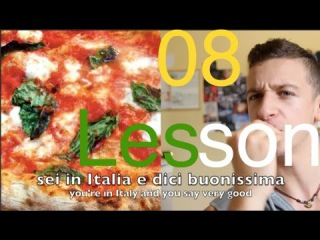 Lesson NORMAL SPEED 08 - I GESTI ITALIANI (Learn Italian the Natural Way with subtitles ENG/ITA)