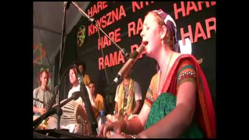 Woodstock jahnavi harison heart touching kirtan